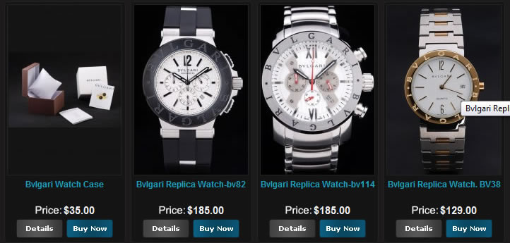 Bvlgari Replicas watches case