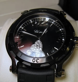 chopard happy diamonds floating number replica